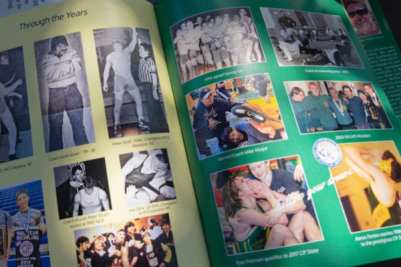 New book (a yearbook actually covering 1963 to current) that my brother, Aaron and I created on the history of our alma mater, Livermore High School wrestling.