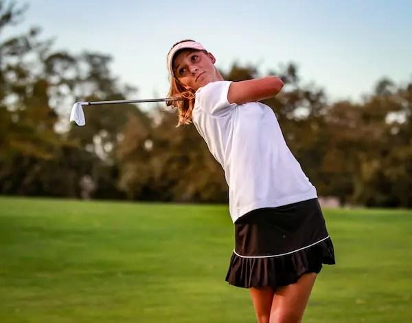 Fall Sports, COVID, Ellie Bushnell, Golf