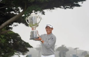 23 year old SoCal native, Collin Morikawa won his first major PGA tournament yesterday at San Francisco's Harding Park. The Cal graduate shot a closing round 64 to secure the 102nd Wannamaker Trophy. For his efforts, Morikawa took home $1.98-million share of the $11-million dollar purse. Morikawa attended La Cañada High School.
