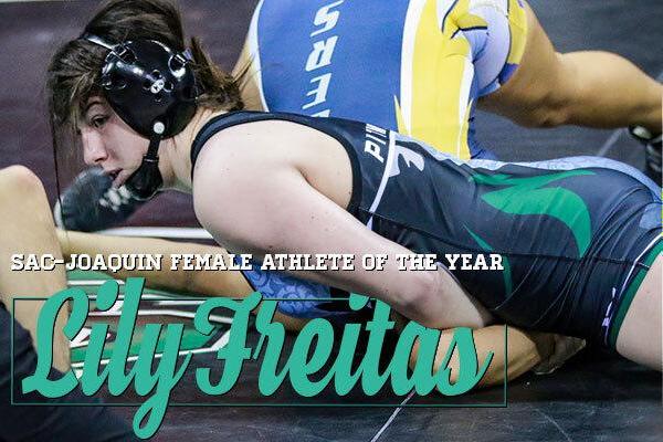 Lily Freitas, Pitman, Turlock, Wrestling