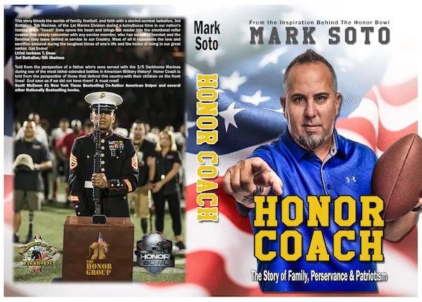 Mark Soto, Honor Coach, Book, Football, Military