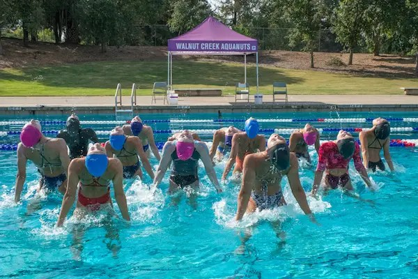 The Walnut Creek Aquanuts is a world-renowned artistic swimming clubbased in Northern California.