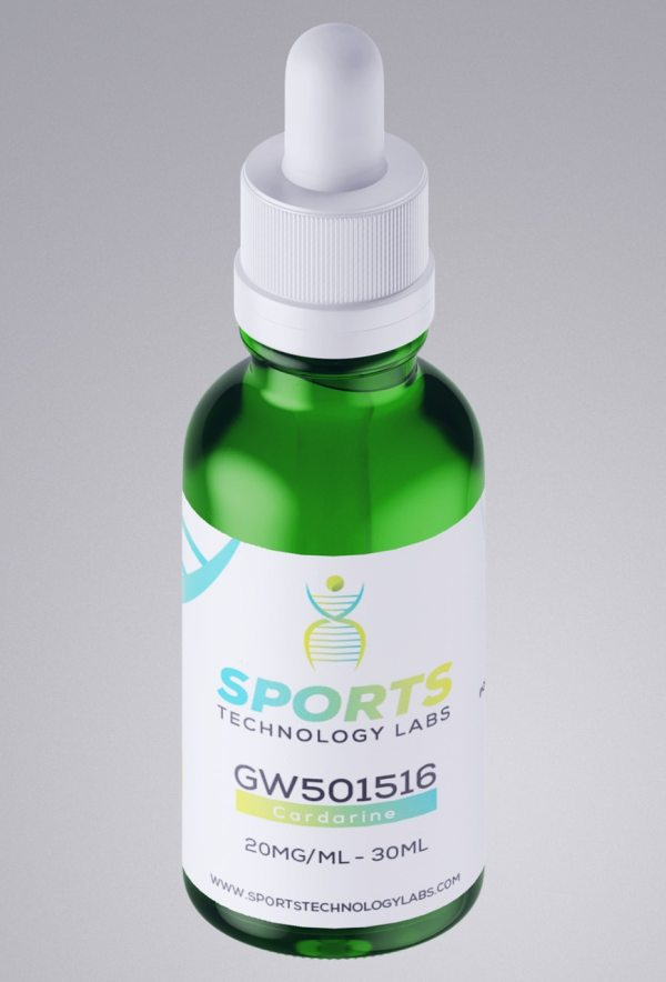 For Sale 30ML Bottle of 98.7% pure Cardarine (GW501516) 20mg/ml from Sports Technology Labs