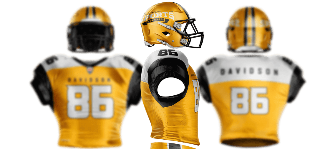 Download NFL Football Jersey & Uniform Builder Template