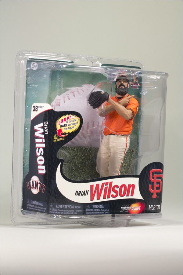 Brian Wilson San Francisco Giants - Orange Jersey Collector's Level Figure