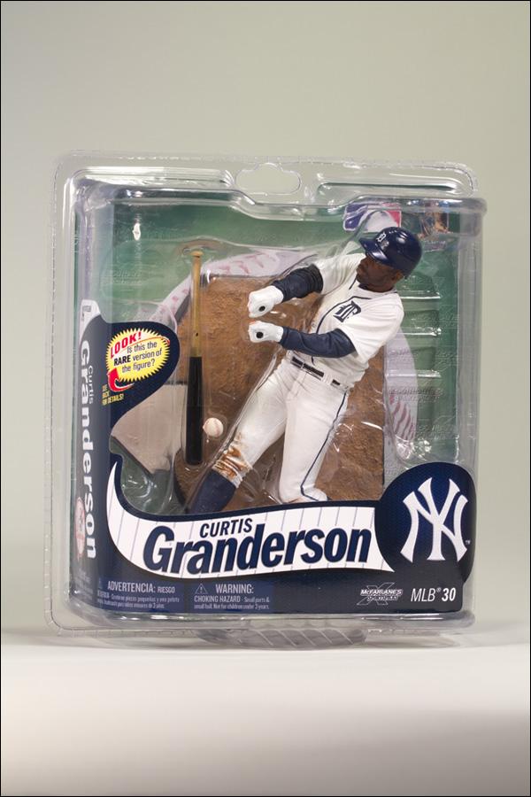 Curtis Granderson - Detroit Tigers Collector's Level Figure