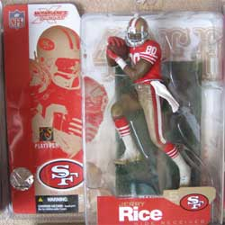 San Fancisco 49ers Red Jersey Tan Belt w/out logo variant chase figure