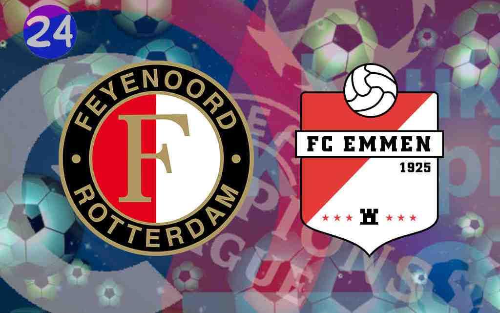 Livestream Feyenoord - FC Emmen