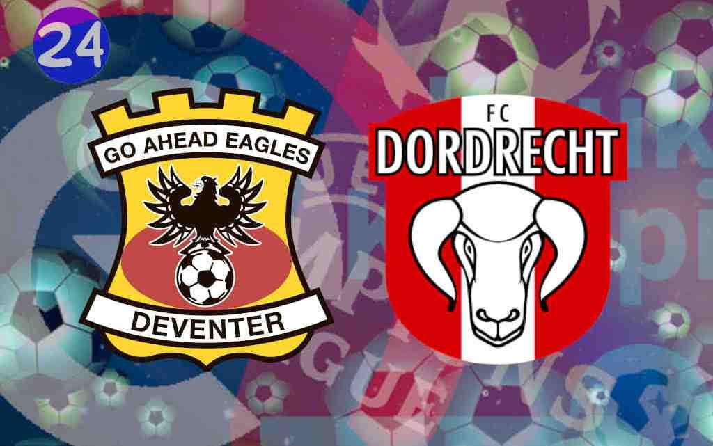 Livestream Go Ahead Eagles - FC Dordrecht