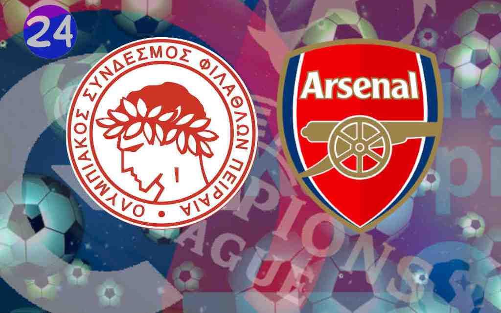 Livestream Olympiakos Piraeus - Arsenal