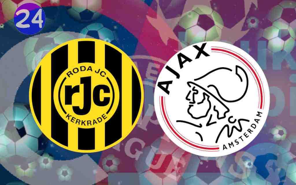 Livestream Roda JC - Jong Ajax