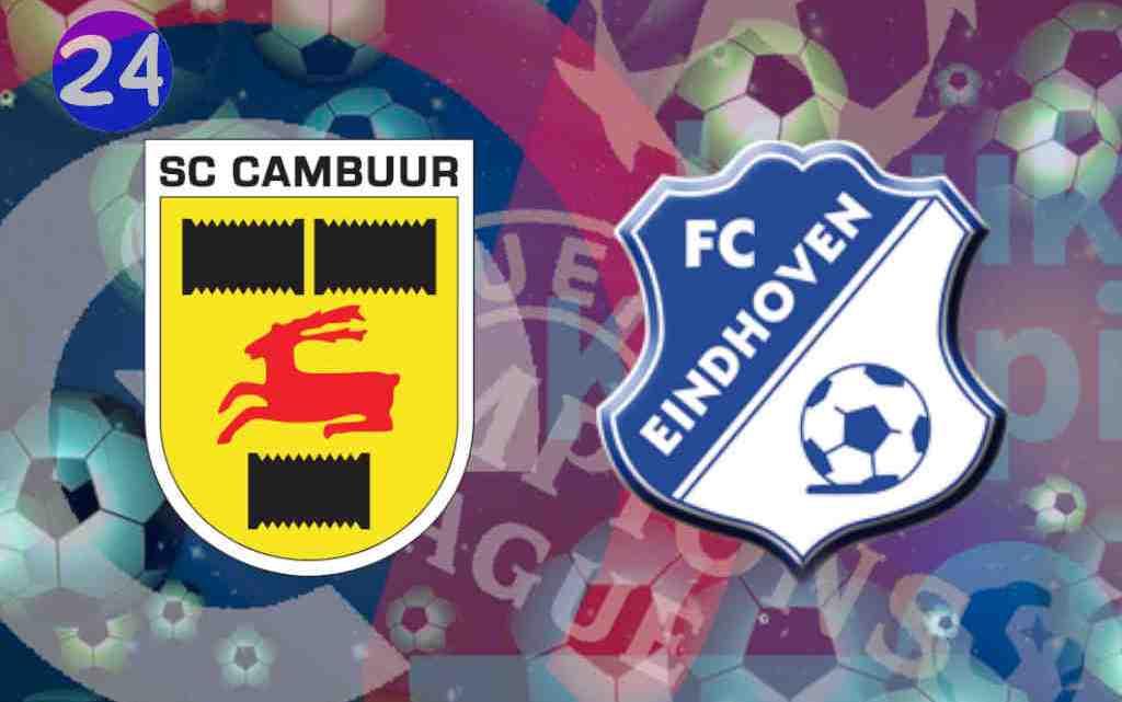 Livestream SC Cambuur - FC Eindhoven