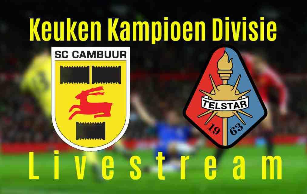 Livestream SC Cambuur - Telstar