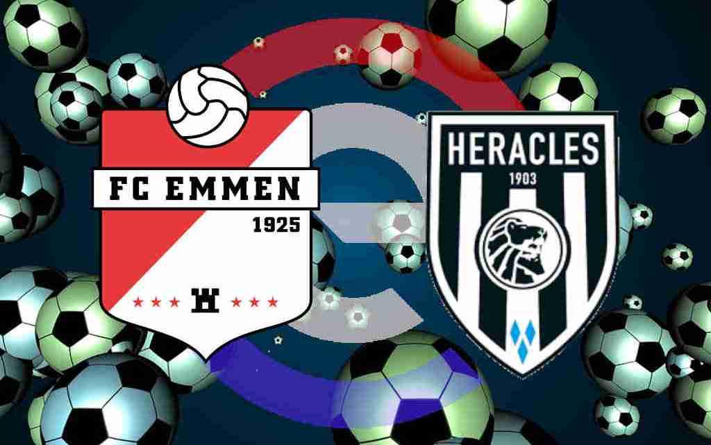 Kijk gratis FC Emmen - Heracles Almelo