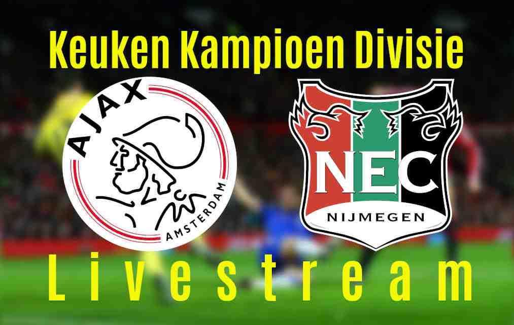 Livestream Jong Ajax - NEC