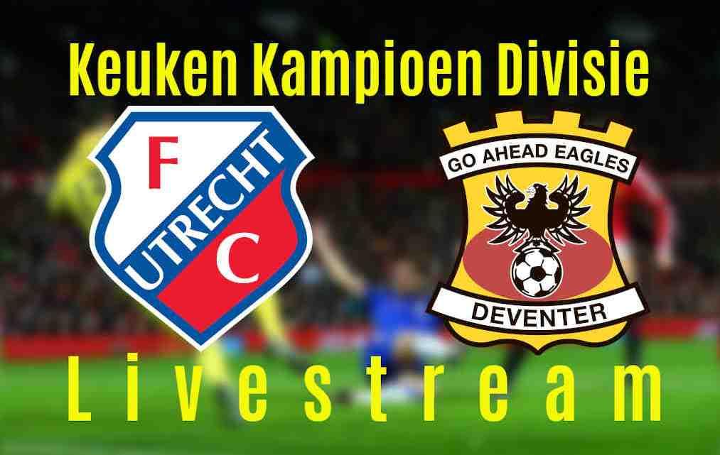 Livestream Jong FC Utrecht - Go Ahead Eagles