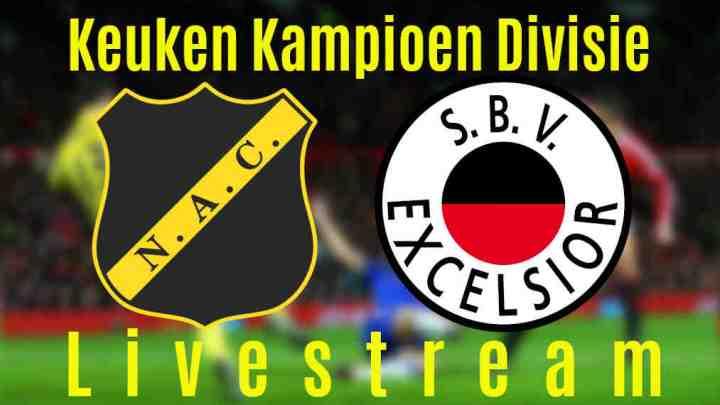 Livestream NAC Breda - Excelsior