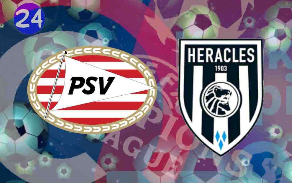 Livestream PSV - Heracles Almelo