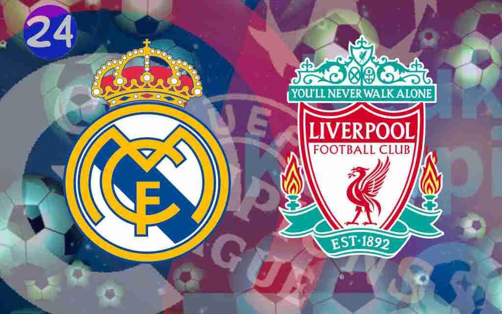 Livestream Real Madrid - Liverpool