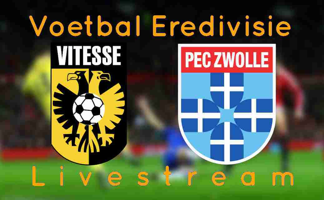 Livestream Vitesse - PEC Zwolle