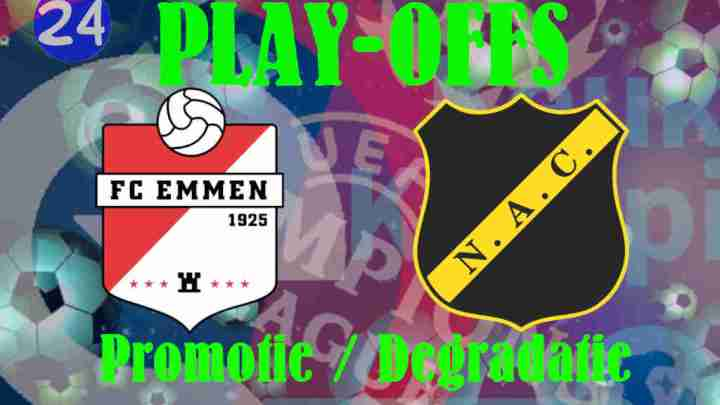 Livestream Play-Offs FC Emmen - NAC
