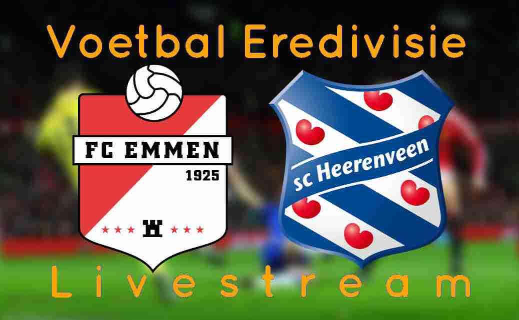 Gratis FC Emmen - SC Heerenveen
