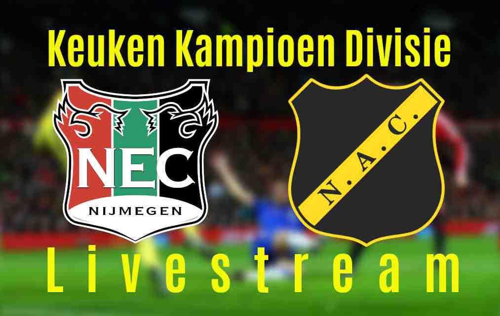Livestream NEC Nijmegen - NAC Breda