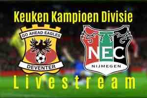 Livestream Go Ahead Eagles - NEC