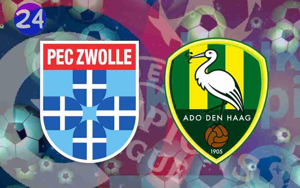 Livestream PEC Zwolle - ADO Den Haag