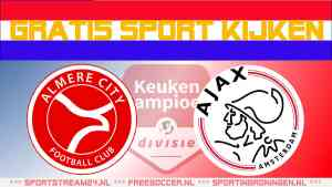 Livestream Almere City FC vs Jong Ajax