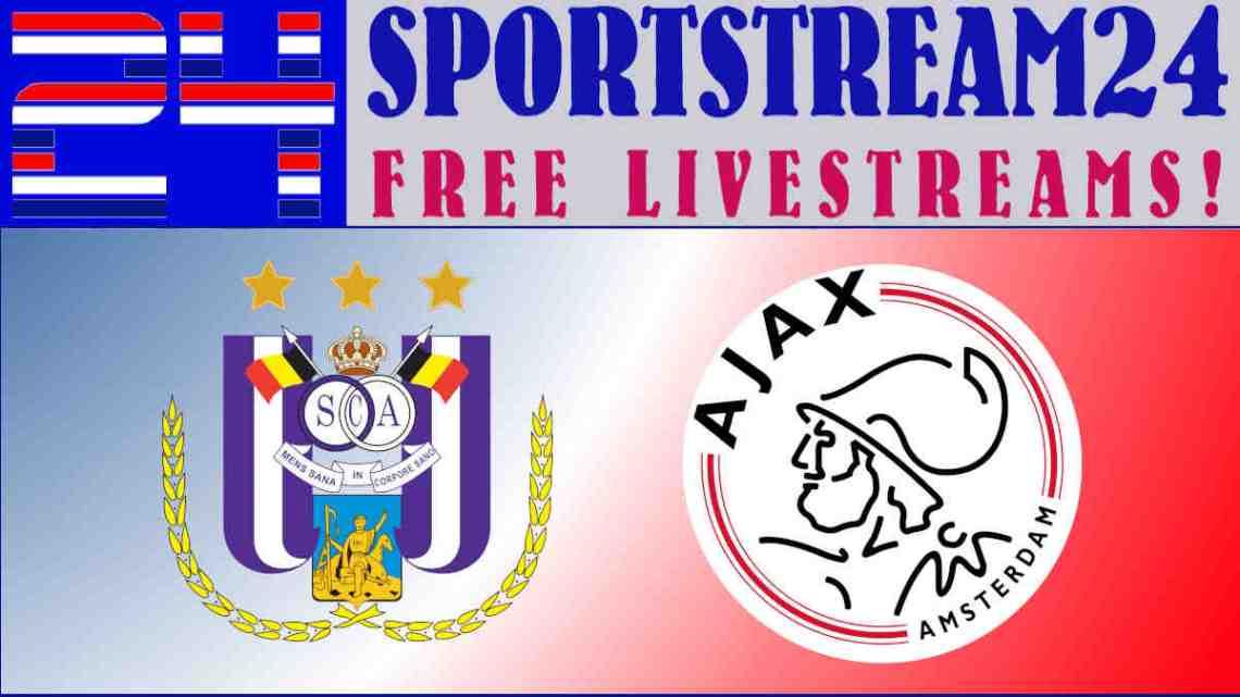Livestream RSC Anderlecht - Ajax
