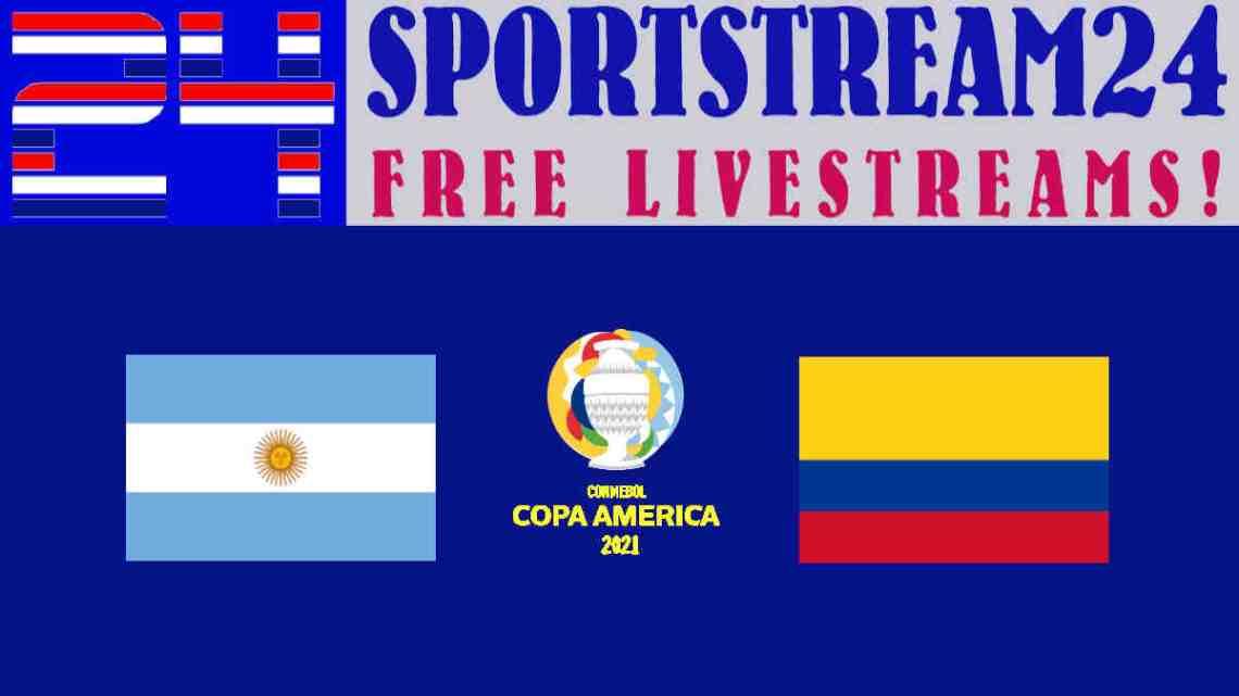 Livestream Copa América: Argentinië - Colombia