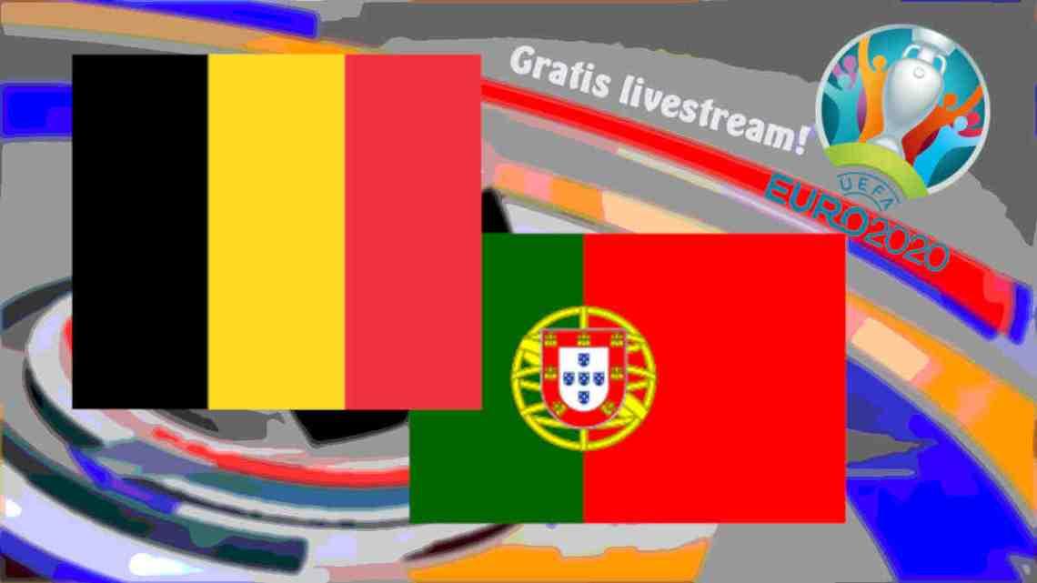 Livestream EURO 2020 België - Portugal