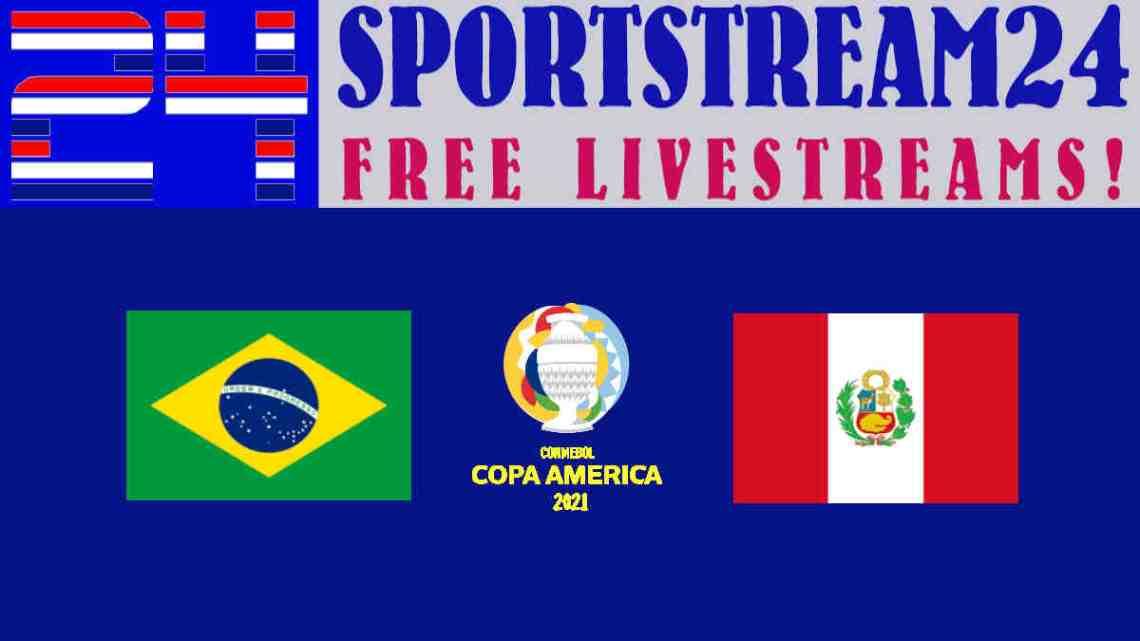 Livestream Copa América: Brazilië - Peru