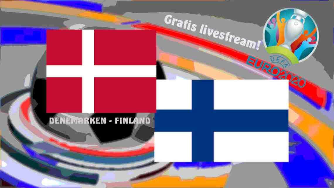 UEFA EURO2020: Livestream Denemarken - Finland