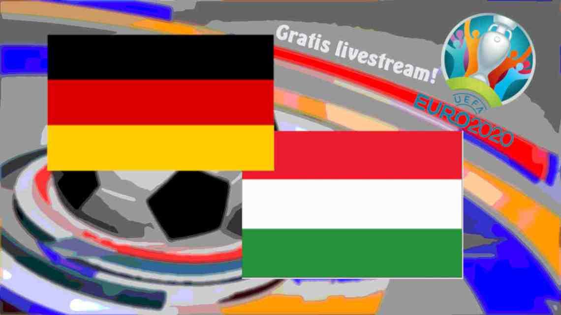 Livestream Duitsland - Hongarije