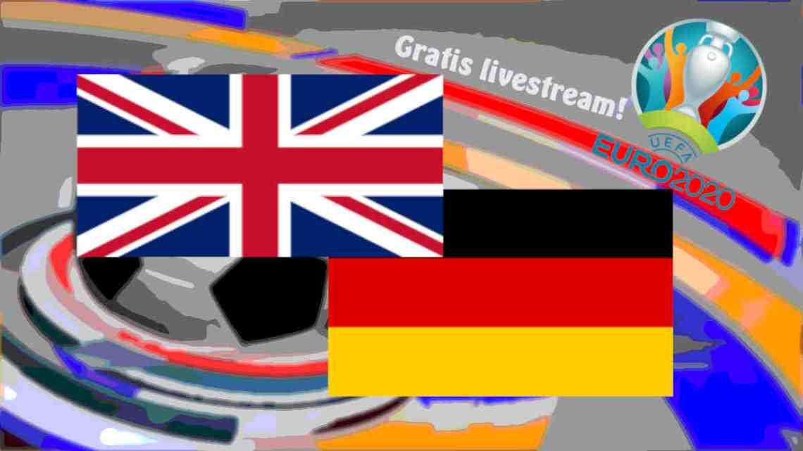 Livestream Engeland - Duitsland