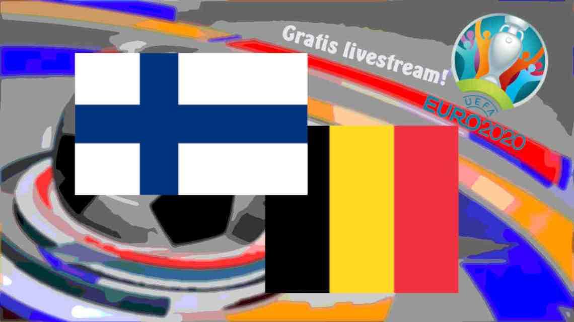 Livestream Finland - België