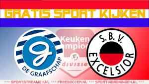 Livestream De Graafschap vs Excelsior