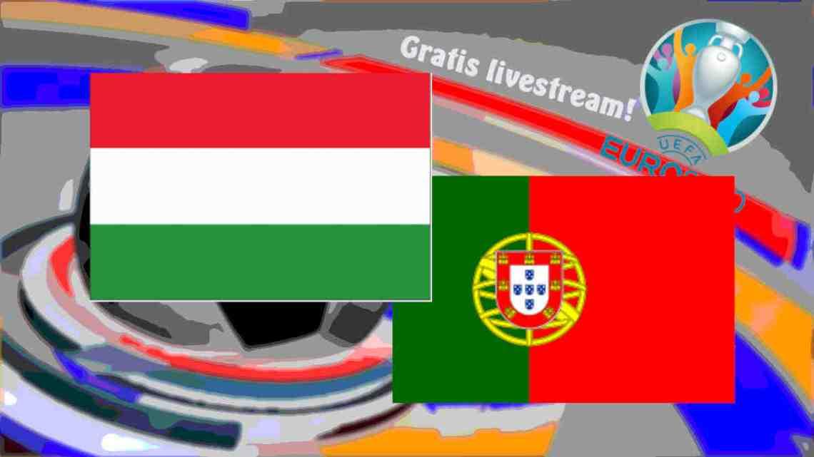 Livestream Hongarije - Portugal