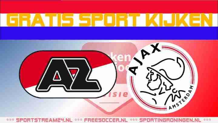 Livestream Jong AZ vs Jong Ajax