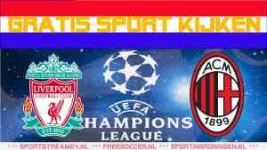 Livestream Liverpool - AC Milan