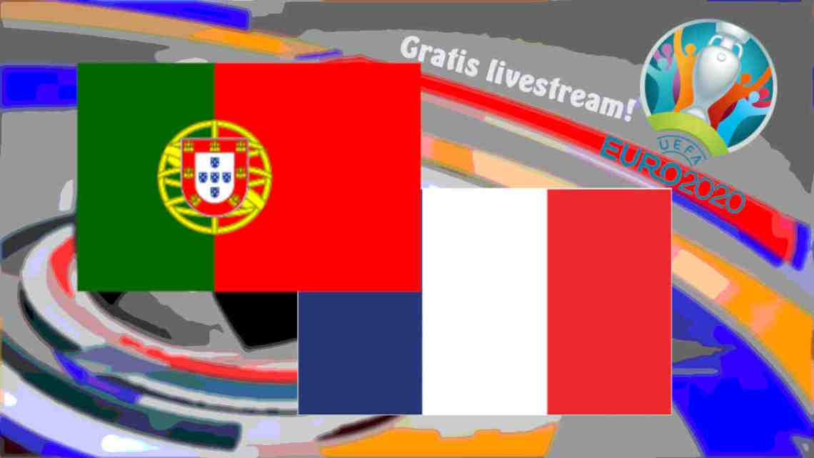 Livestream Portugal - Frankrijk