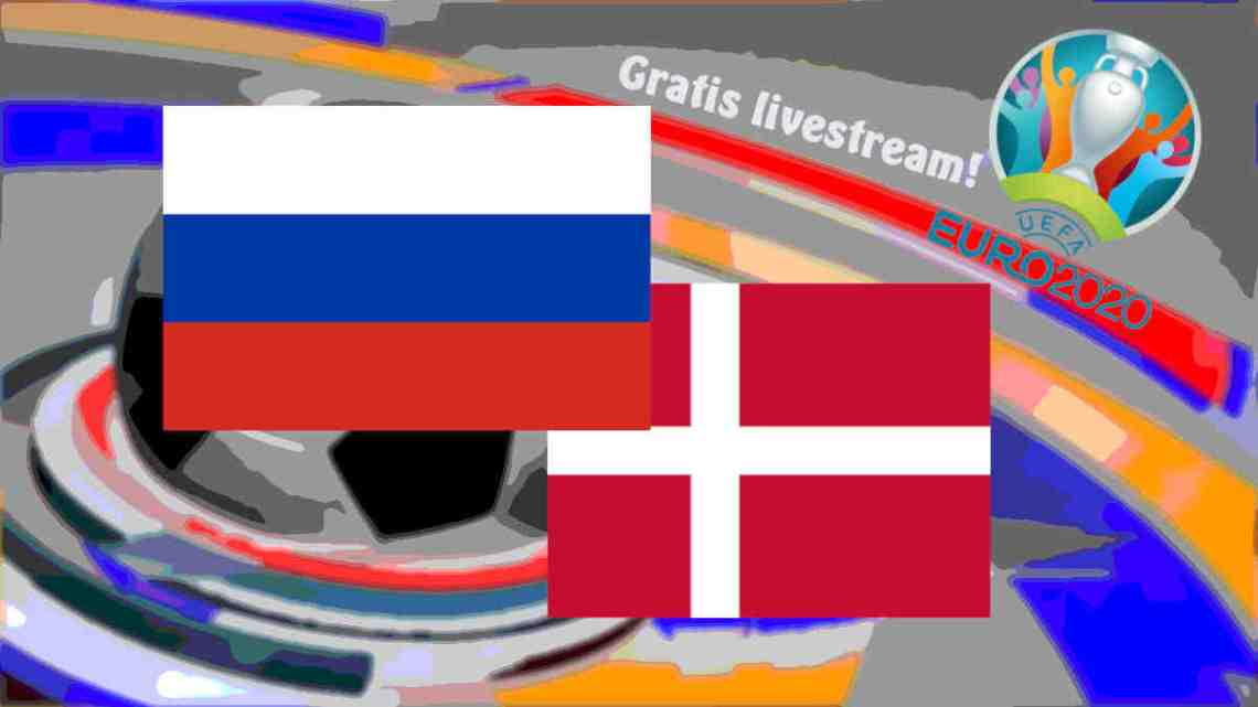 Livestream Rusland - Denemarken