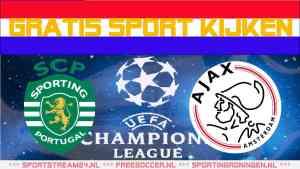 Livestream Sporting CP - Ajax