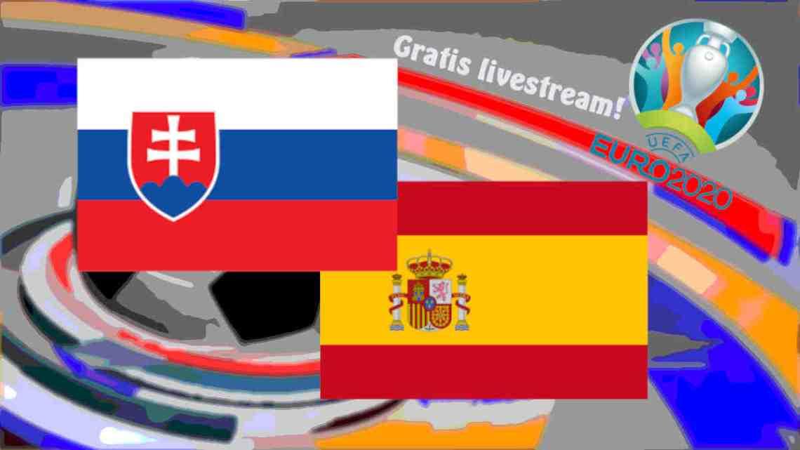 Livestream Slowakije - Spanje