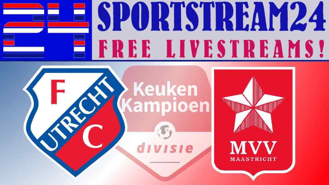 Jong FC Utrecht - MVV livestream
