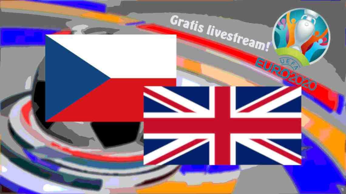 Livestream Tsjechië - Engeland