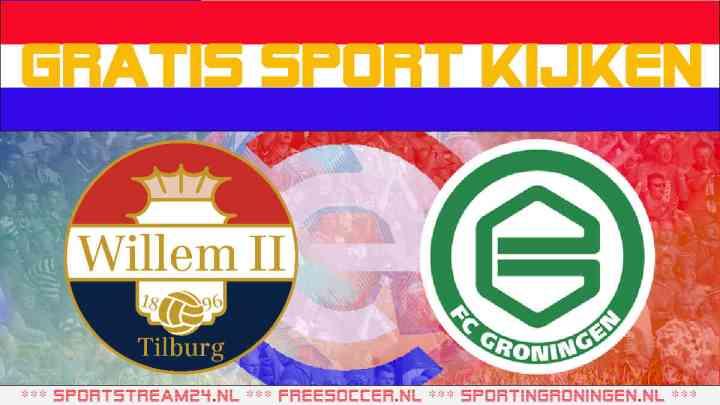 Livestream Willem II - FC Groningen