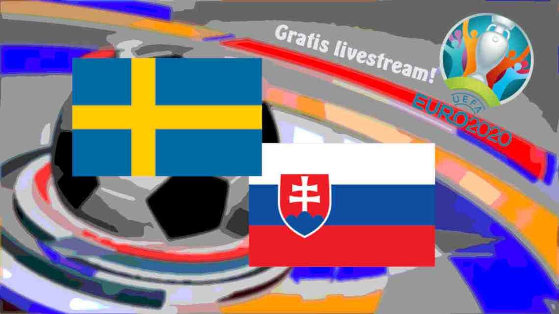 Livestream Zweden - Slowakije